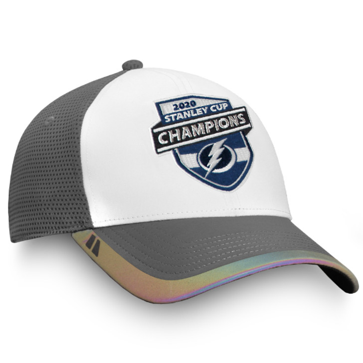 Tampa Bay Lightning 2020 Stanley Cup Champions Locker Room Adjustable Hat
