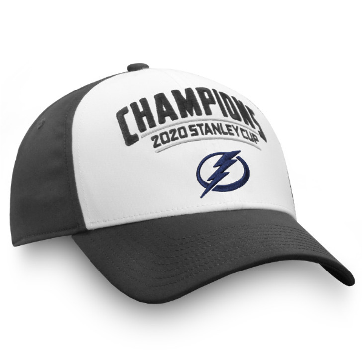 Men's Tampa Bay Lightning 2020 Stanley Cup Champions Flex-Fit Hat (S/M ONLY)