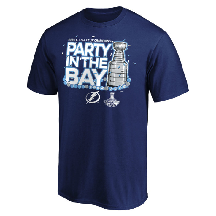Men's Tampa Bay Lightning 2020 Stanley Cup Champions Parade Tee