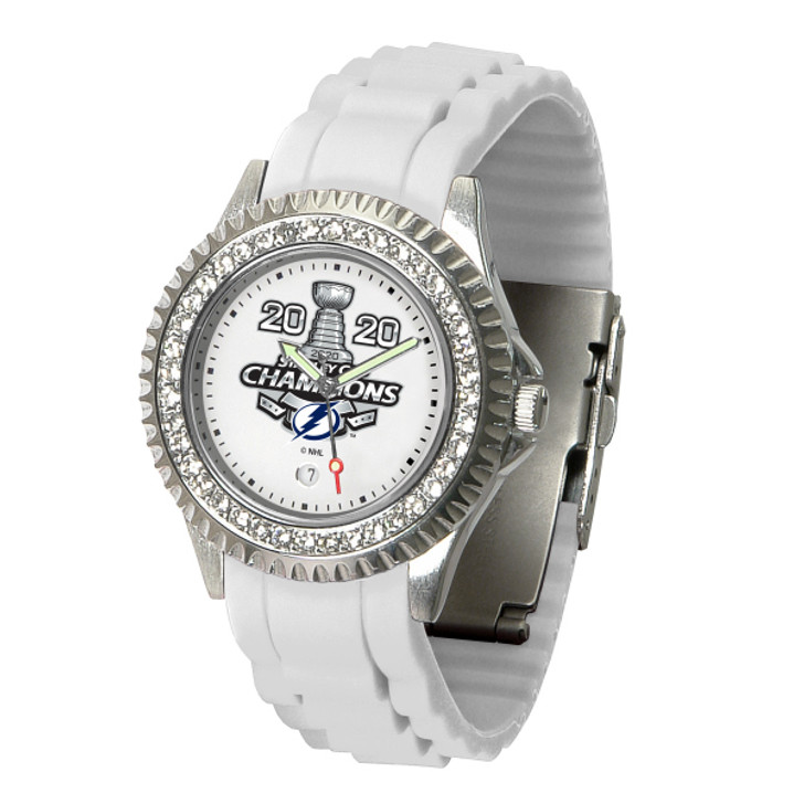 Women's Tampa Bay Lightning 2020 Stanley Cup Champions Sparkle Watch