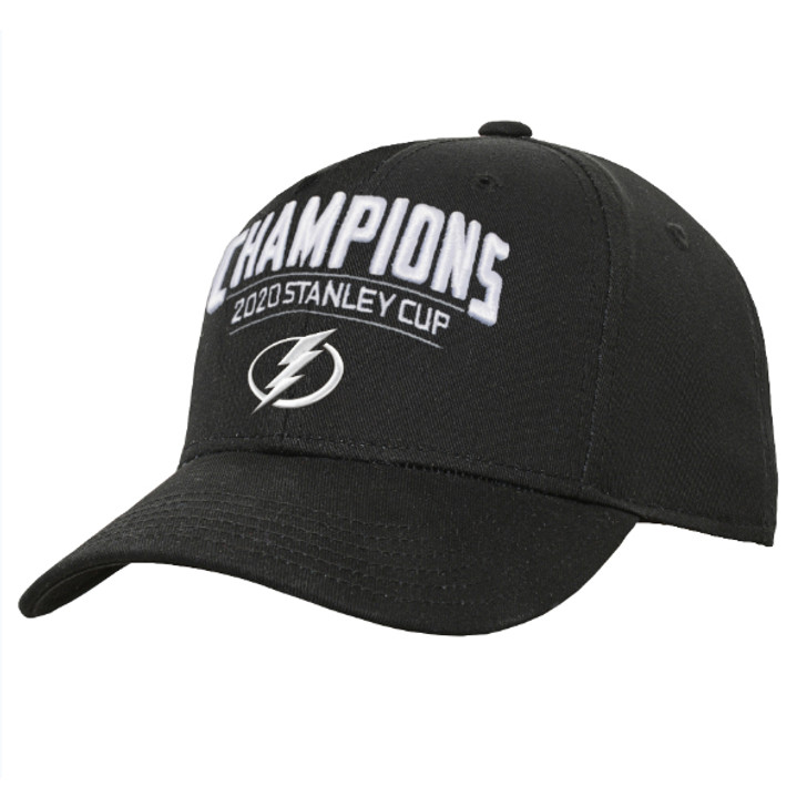 Youth Tampa Bay Lightning 2020 Stanley Cup Champions Adjustable Hat