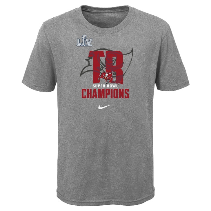 Youth Tampa Bay Buccaneers Super Bowl LV Champions Tee