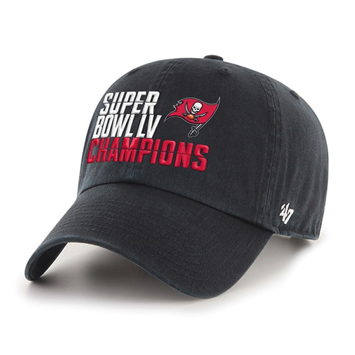 Tampa Bay Buccaneers Super Bowl LV Champions Champions '47 Adjustable Clean Up Hat