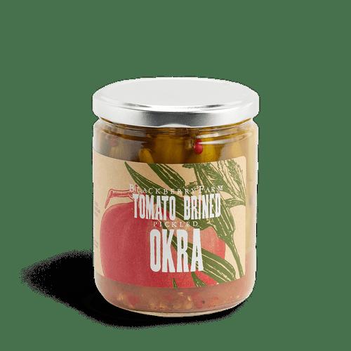 Tomato Brined Okra