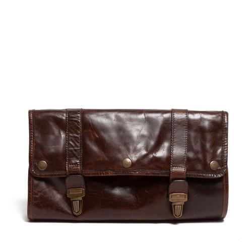 Leather Hanging Dopp Kit - Image 1
