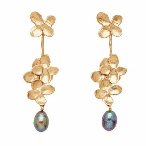 Hydrangea Blossom Earrings - Image 1