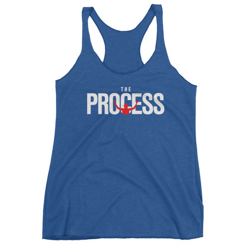 The Process Ladies' Racerback Triblend Tank