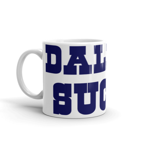 Dallas Sucks Wrap-Around Mug