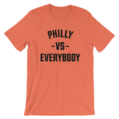 Philly Vs Everybody (Heather Orange)