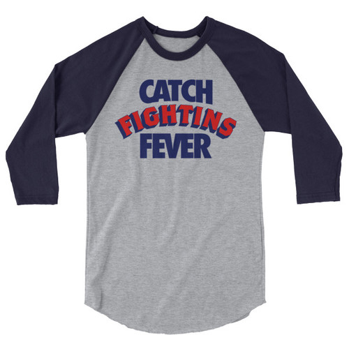 Fightins Fever Unisex Raglan