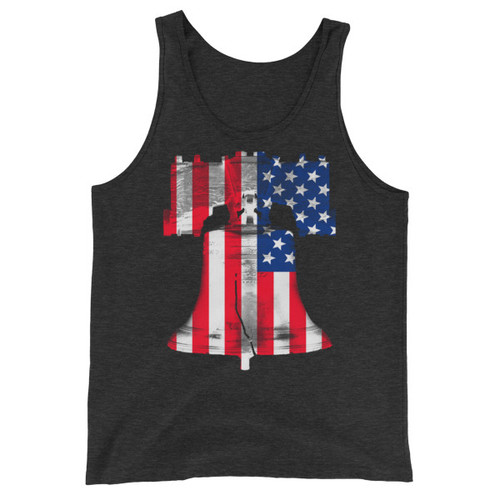 Freedom Ringing Unisex Triblend Tank Top