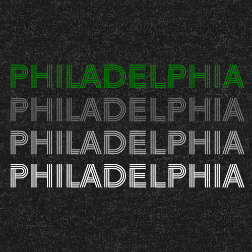 Philly Lines Football Unisex Tee