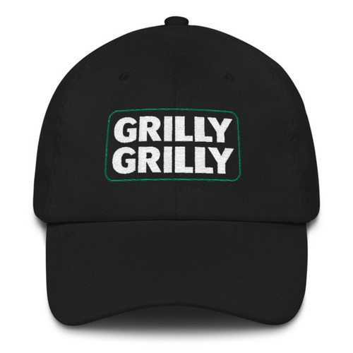 Grilly Grilly Football Dad Hat