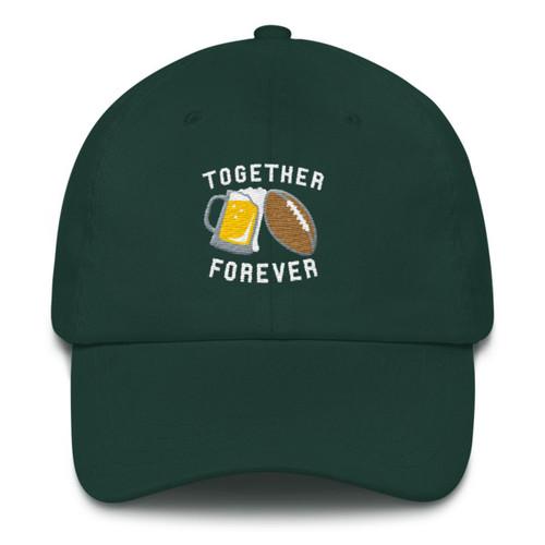 Together Forever Football Dad Hat