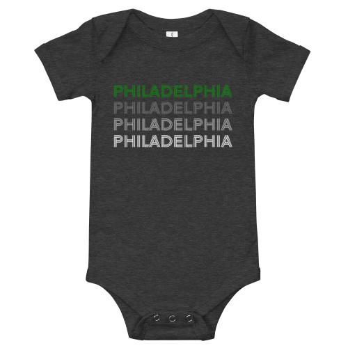 Philly Lines Onesie