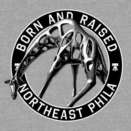 Born & Raised NE Phila (Heather Grey)