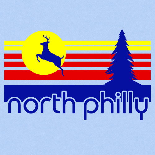 North Philly Wilderness (Light Blue)