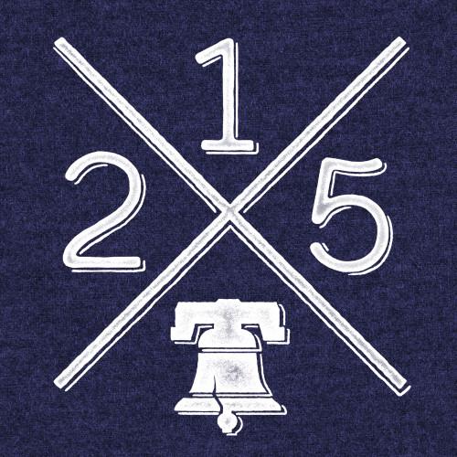 215 Signal (Heather Navy)