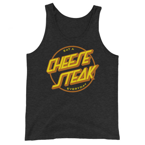 Eat A Cheesesteak Unisex Triblend Tank