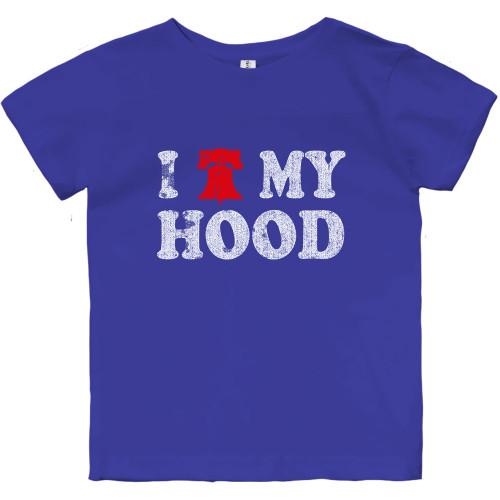 Love My Hood Toddler Tee (Royal)