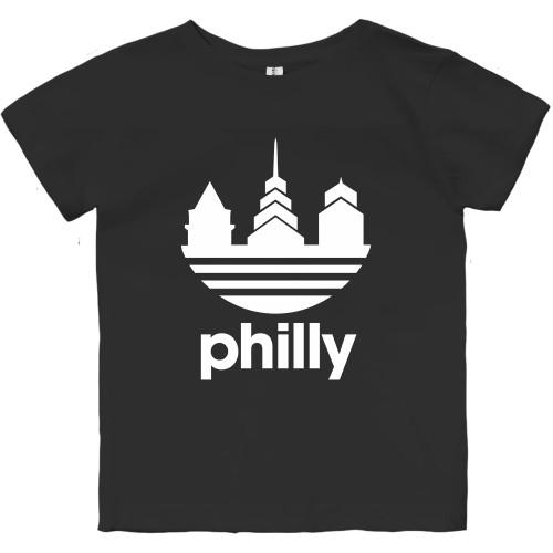 Das Philly Toddler Tee (Black)