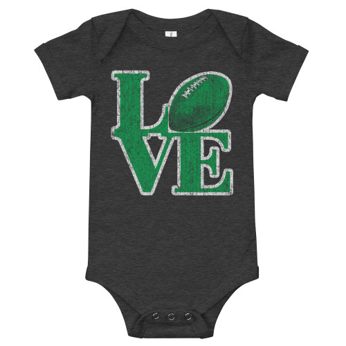 Love Football Infant Onesie