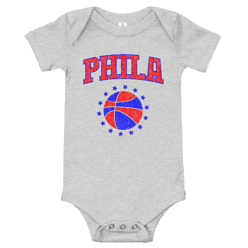Phila Hoops Infant Onesie