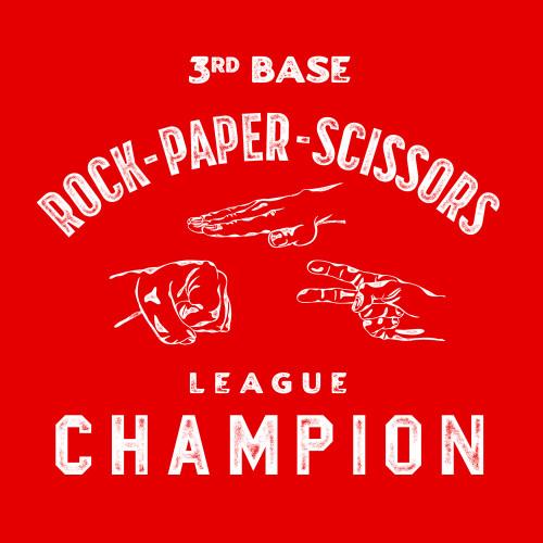3rd Base Rock-Paper-Scissors League Champion