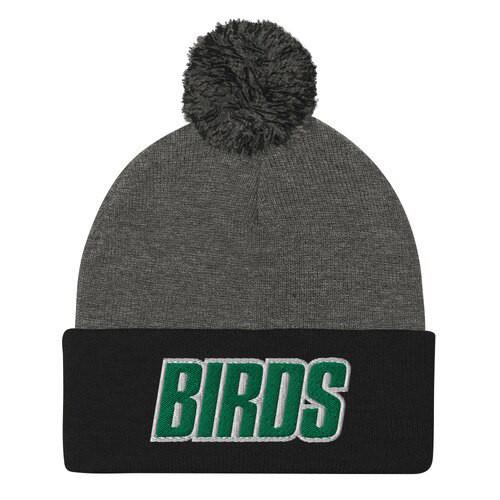 Big Birds Pom-Pom Beanie