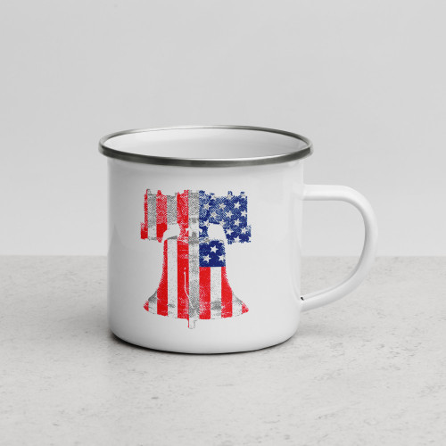 Freedom Enamel Mug