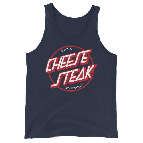 Eat A Cheesesteak Unisex Tank Top