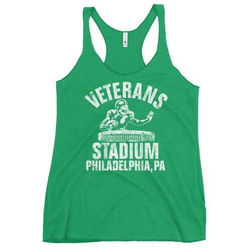 Vet Stadium Football Women's Racerback Tank