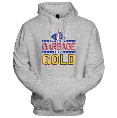 Turning Garbage Into Gold Hoodie (Heather Grey)