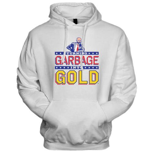 Turning Garbage Into Gold Hoodie (White)