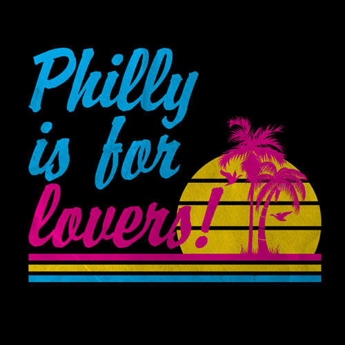 Philly Is For Lovers Black