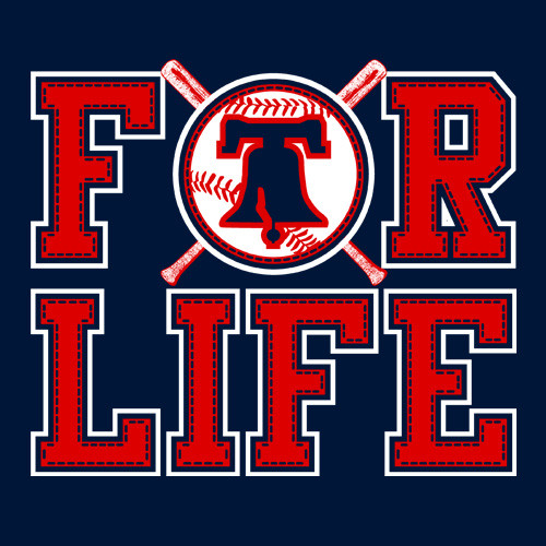 For Life Baseball (Navy)