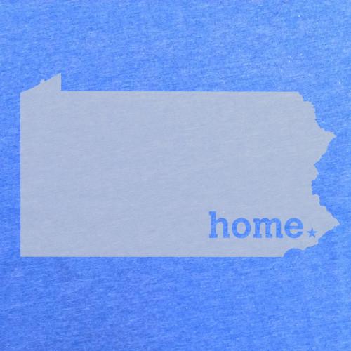 Home Heather Blue Tee