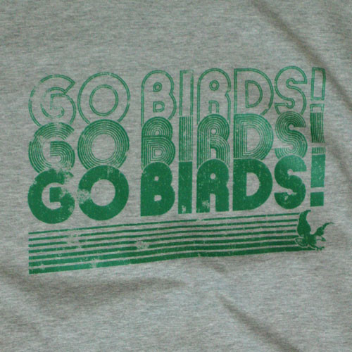 Go Birds! Grey