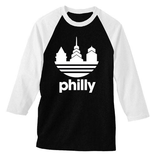 Das Philly Unisex Raglan (B/W)