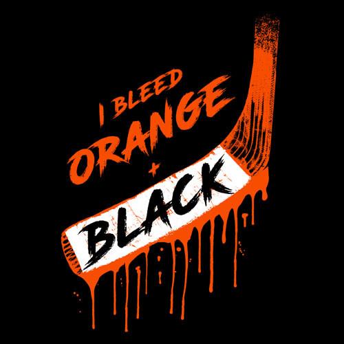 Bleed Orange & Black