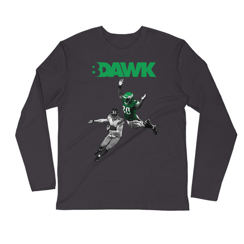 B Dawk Long Sleeve Fitted Crew