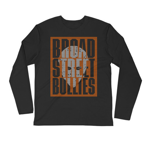 Bullies Mask Long Sleeve Fitted Crew