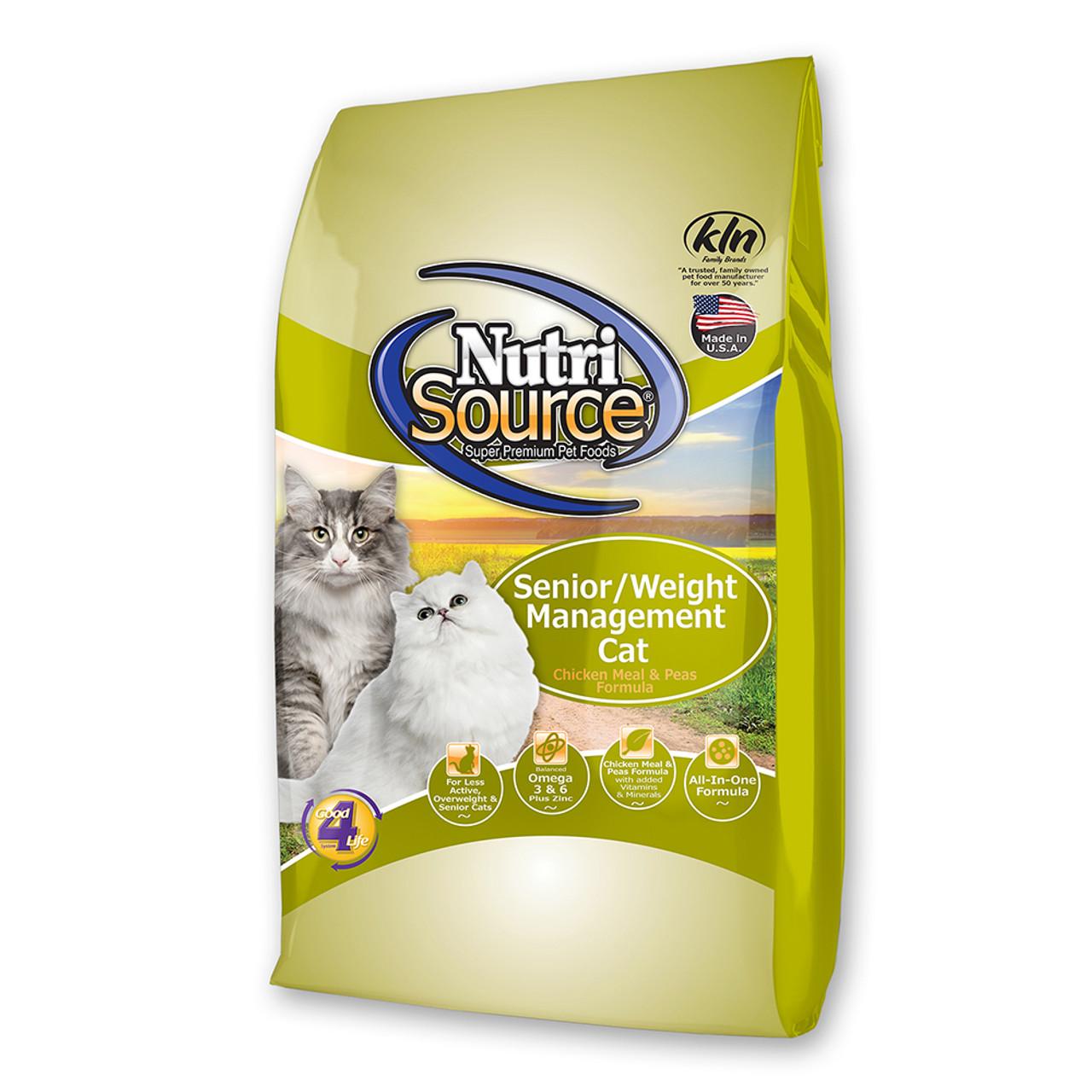 NutriSource Senior / Weight Management Dry Cat Food