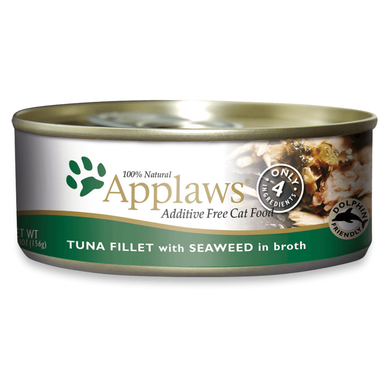 Applaws Tuna Fillet with Seaweed Canned Cat Food