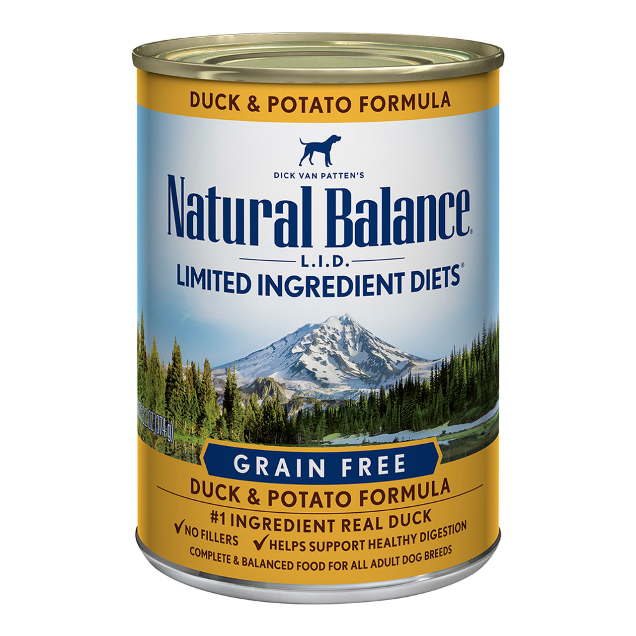 Natural Balance Limited Ingredient Diets Duck & Potato Formula Canned Dog Food
