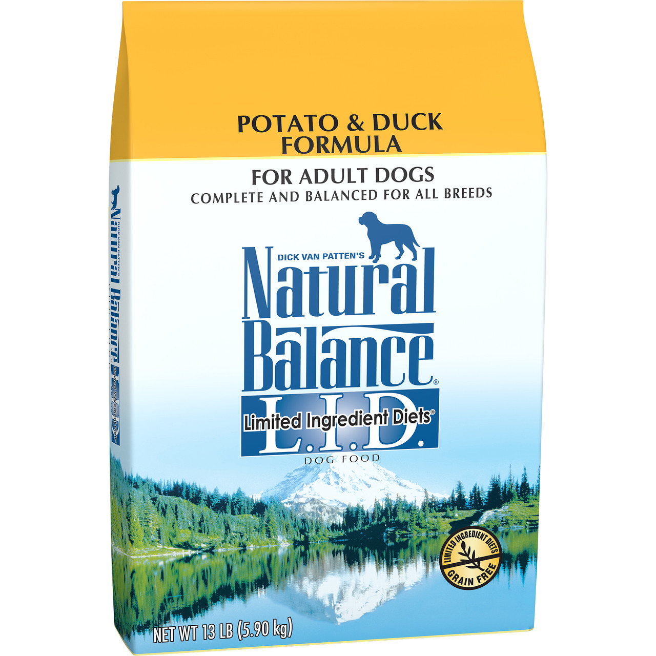 Natural Balance Limited Ingredient Diets Potato & Duck Formula Dry Dog Food