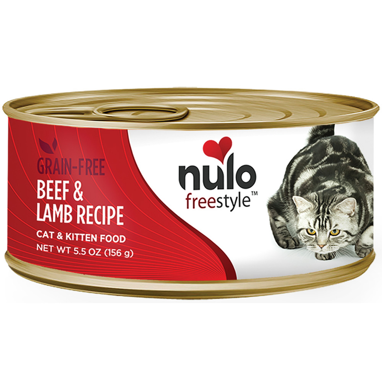 Nulo Freestyle Cat & Kitten Beef & Lamb Recipe Canned Cat Food