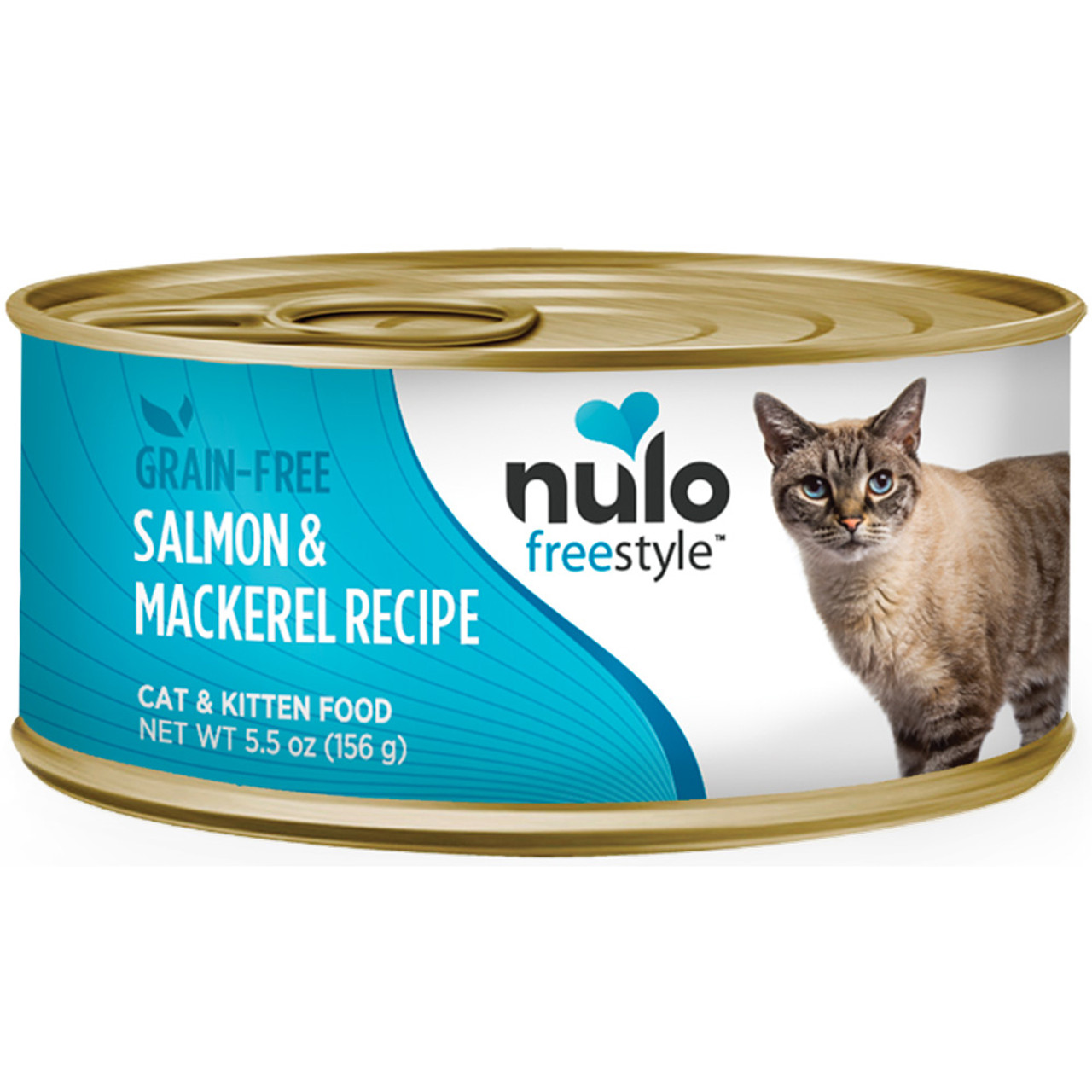 Nulo Freestyle Cat & Kitten Salmon & Mackerel Recipe Canned Cat Food