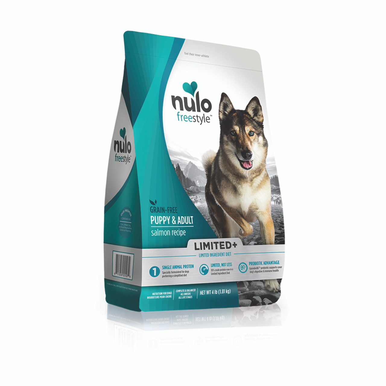 Nulo FreeStyle Limited+ Puppy & Adult Salmon Recipe Dry Dog Food
