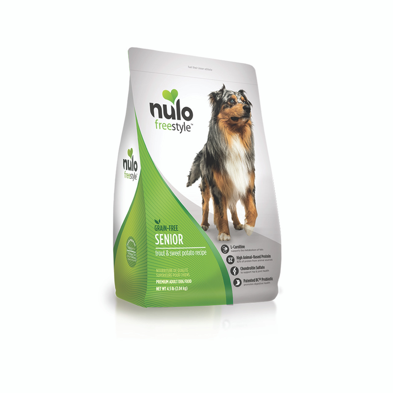Nulo Freestyle Senior Trout & Sweet Potato Dry Dog Food